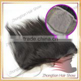 2014 Hot Sale 4*4 Straight Middle part cheap Indian Lace Closure,100% Virgin Human Hair Skin Lace Front Closure