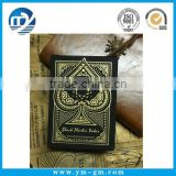 Gold and silver black plastic playing cards                                                                                                         Supplier's Choice