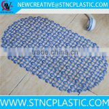 swimming pool grating washable rugs anti slip mat plastic bath mat with suction cup