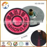 Alibaba China Black And Red Round Bulk Metal Buttons