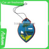 The best selling car air purifier freshener paper car air freshener with Logo printing IC-955