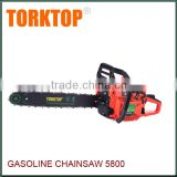 garden tools gasoline chainsaw manufacturer cs5800 petrol chain saw                                                                                         Most Popular