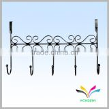 Over Wall Metal Clothes Clothing Type and Display Style Hanger Stand for Cota Hooks Vintage