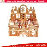 Wooden buiding stock preschool kids toy Wooden functional kids creative block toys