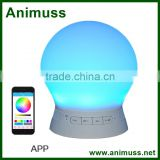 consumer electronics bluetooth audio speaker with LED light Bulb Lamp App Control                                                                         Quality Choice