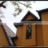 eco-friendly painable lightweight decorative outdoor/extorior wood plastic composite wall panel