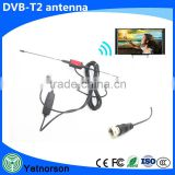 Factory direct sale high definition car antenna for tv dvb-t2 antenna indoor/outdoor for dvb-t receiver box