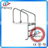 China Supplier Stainless Steel Plastic Step Swimming Pool Slide Ladder
