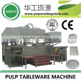 Fully Automatic Bagasse Lunch Box Tableware Machine Production Line by manufacturer HGHY