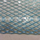 Blue Aluminum Mesh Grill for Front Bumper/Performance Decorative Light Weight Aluminum Mesh Grill