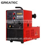 mig welder 200 amp spot welding inverter machine ms min