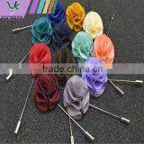 Brooch,artificial silk flower corsage insert a long needle-type suit corsage, corsage pins