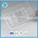 Food grade pvc blister tray box clamshell food packing
