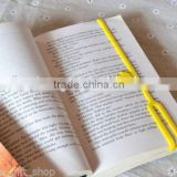 Many kinds silicone bookmark for choosing promotional gift 3D silicone bookmark