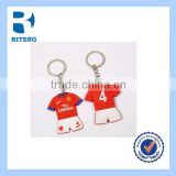 promotional key chain ring football team clubs sports wear with good quality