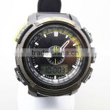 Fashion module analog sport watch with digital display