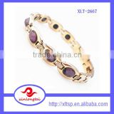 2015 china supplier fashion jewelry new product wholesale plated natural color stone bracelets for women
