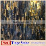 Luxury Tiger Eye slab,yellow tiger eye granite for decoration