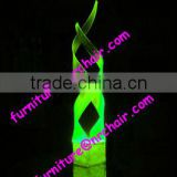 shanghai event rental wedding banquet acrylic LED lighted table decorative centerpiece