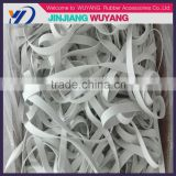 New product durable rubber band elastic band rubber tape for swimwear and swimsuit in wuyang