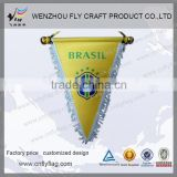Brand new custom football pennant with CE certificate