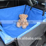 China wholesale the rear seat double folding pet dog car cushion car mats waterproof pad multicolor008#