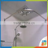 Aluminium Or Stainless Steel Corner Shower Curtain Rod