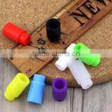 silicone 510 drip tip for OEM logo cheap drip tip for test eliquid silicone drip tips with plastic bag each one