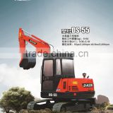 Nice new model digging machine backhoe loader 5 ton mini excavator