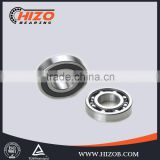 bearing manufacturing process 6201 double row Rubber Seals ABEC1 tungsten carbide ball bearing