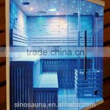 Best Sale popular steam sauna room sauna cabin for weight loss slimming (CE/ISO/TUV/FSC/ETL/RoHS Certificate)