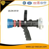 Fire Water Spray Nozzle Without Recoil Pistol grip fire nozzle