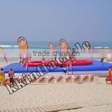 adult inflatable beach water volleyball court sports