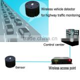 Magnetometer car detection sensor wireless vehicle detector for transportation management