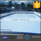 white HDPE sheet for ice rink/synthetic ice hockey training sheet/hdpe board for playground plastic rink