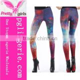 Casual Pants Polyester Pants,Cosmic Starry Leggings,Chic Galaxy Printed Leggings