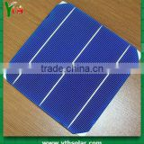cheapest stock solar sell 4.1W 16.6% 3BB b grade little visual defects crystalline solar cell panel for India market