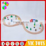 new products 2016 top quality DIY track set wooden toy train for kids