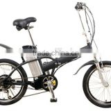 20 Inch Ebike Small Folding High Power Alloy EEC Folding Electric Bicycle Cruiser Electric Bike