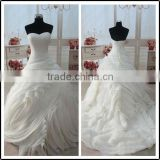 Ruffled Sweetheart Real Pictures Floor Length Custom Made Long Formal Bridal BW278 ball gown wedding dress patterns