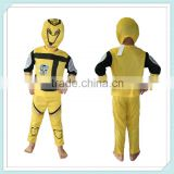 Bumblebee Halloween Costume Yellow/Black Wholesale Baby Clothes kids cotton long sleeves pyjamas Children Transformers bumblebee