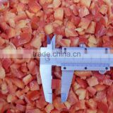 Good quality 10mm frozen IQF red pepper dices