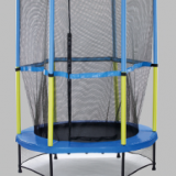 54'' trampoline with safety enclosure