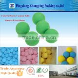 Colorful 60mm Plastic Foam Balls for Ball Cannon