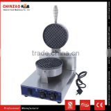 High Quality CHINZAO Brand Electric 1- Plate Commercial Waffle Maker Baker Snack Machine