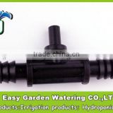 Tee Barb Connectors for 12mm hose and for sprinkler 1/4''. Automatical garden irrigation