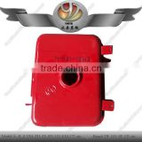 Fuel tank for single cylinder diesel engine of small tractor
