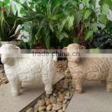 Garden sheep ornaments animal statues for DIY design