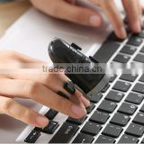 New Arrival Wireless 3D Finger Mouse, 360 Degree Adjustable Bluetooth 2.4g Wireless Finger Ring Mouse For Wholesale