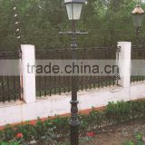 outdoor cast iron park lamp post